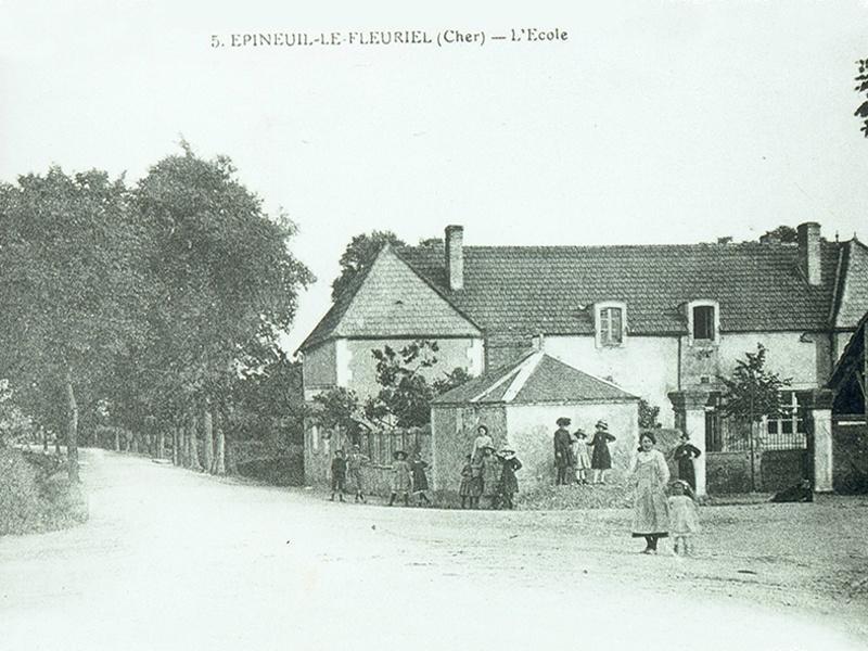 L'Ecole en 1900