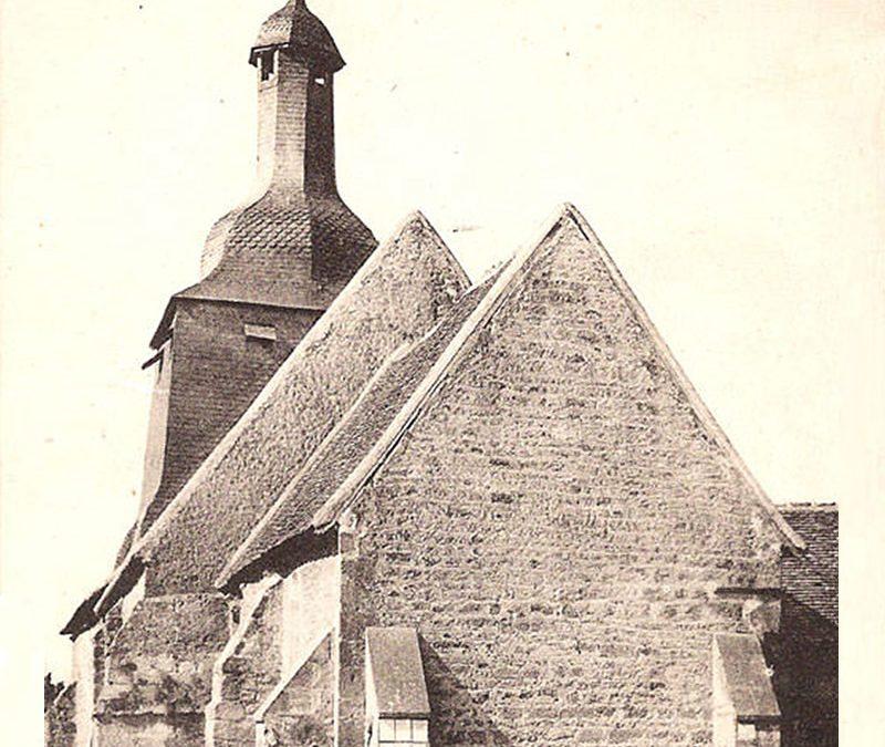 L'église en 1900