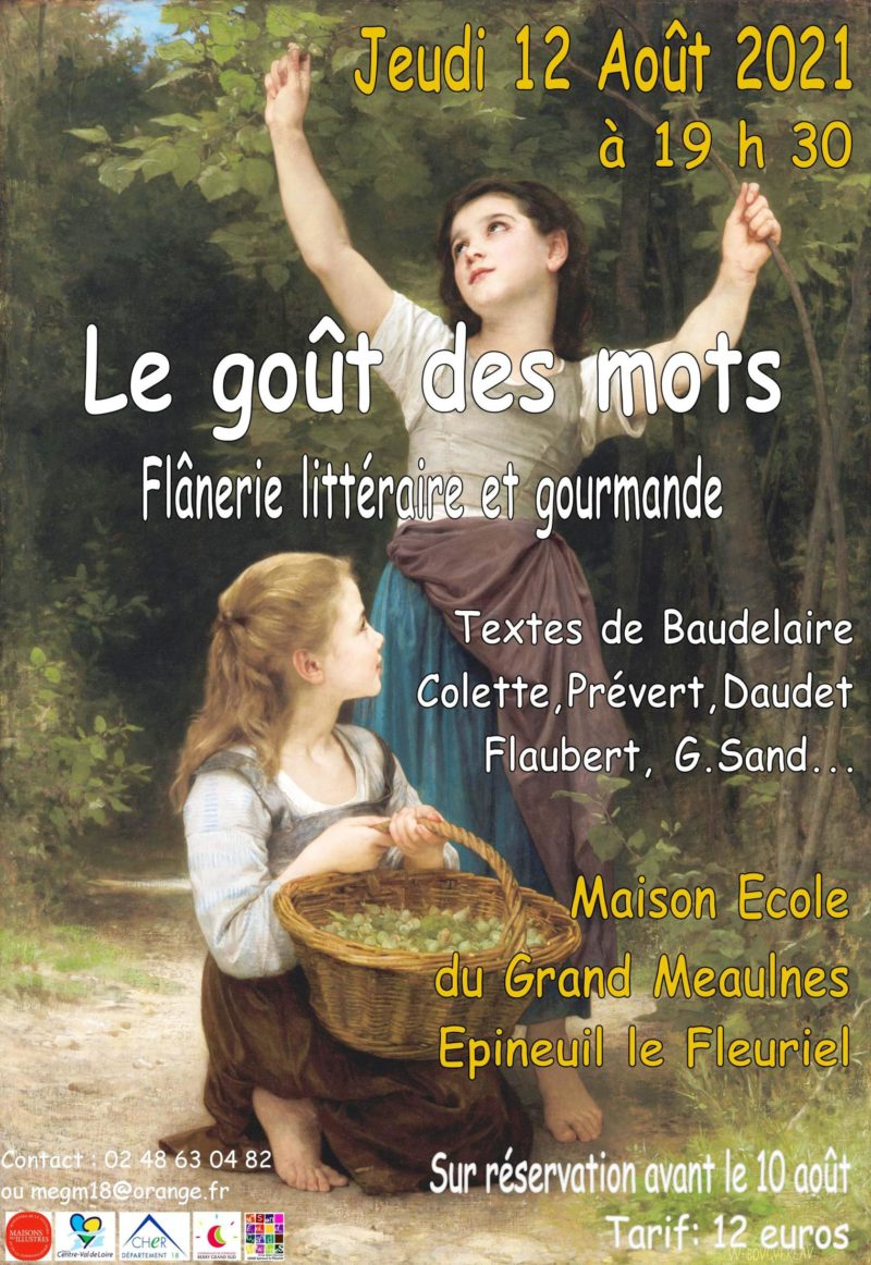 Flânerie littéraire 12 août