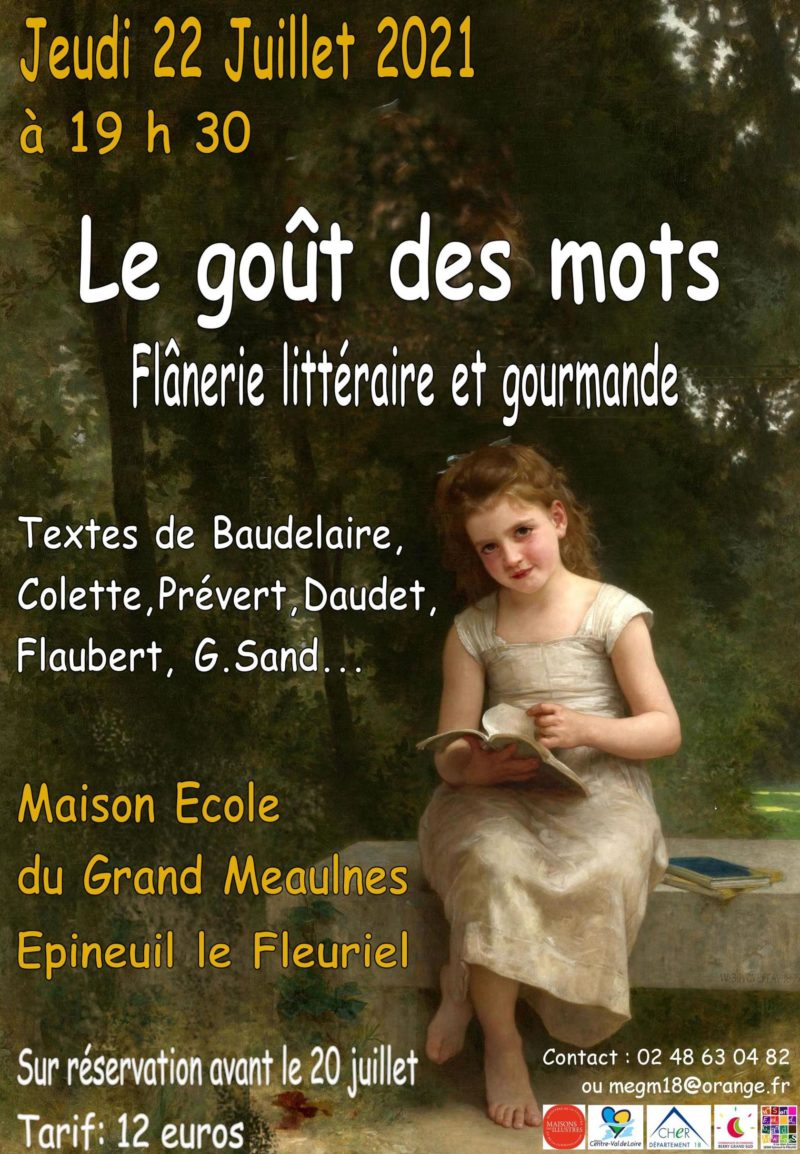 Flânerie littéraire 22 juillet