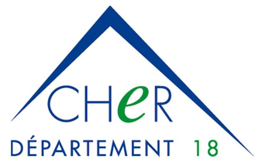 Logo Département du Cher
