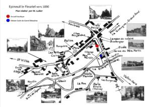 Plan village Epineuil