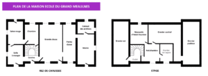 Plan du musée-école du Grand Meaulnes