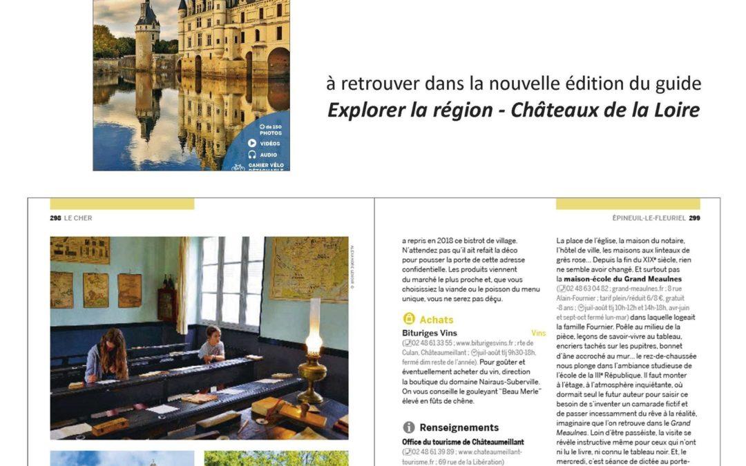 La Maison Ecole du Grand Meaulnes, site recommandé par lonely planet